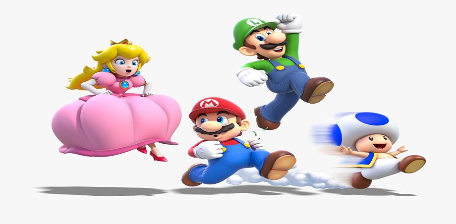 Mario, Luigi and Princess Peach – 3 Main Characters of Mario Bros
