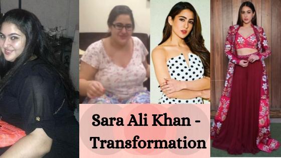 Bollywood Celebrity – Sara Ali Khan Transformation