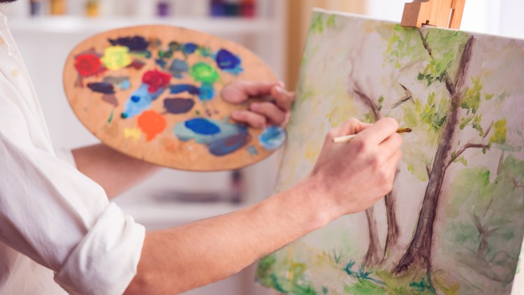 Tips for Painting on Wood with Acrylic Paints
