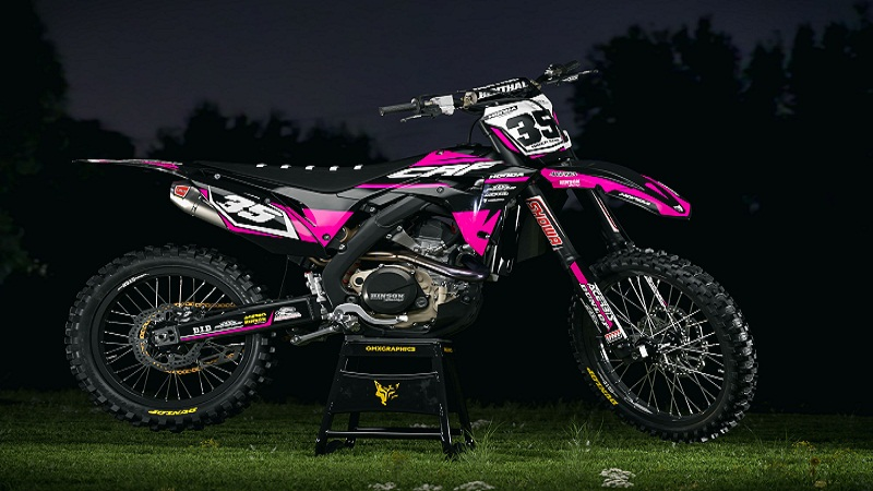 Design Your Own MX Graphics for Bikes with the Help of ATV.Graphics