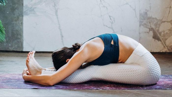 How to Perform Paschimottanasana Yoga Posture (Seated Forward Bend)?