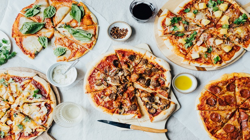 Traditional and Homemade Pizza Flavors